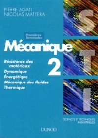 Deedr.fr SCIENCES ET TECHNIQUES INDUSTRIELLES 1ERE ET TERMINALE STI MECANIQUE. Tome 2 Image