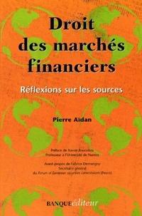 Histoiresdenlire.be Droit des marchés financiers. Réflexions sur les sources Image