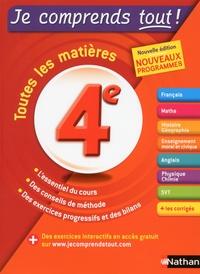 Pierre-Alain Chiffre et Gilles Lassus - Toutes les matières 4e.