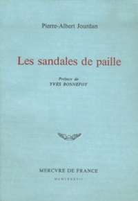 Pierre-Albert Jourdan - Les Sandales de paille.