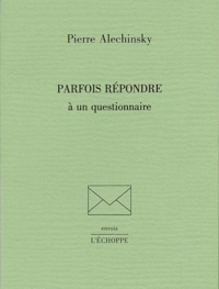 Pierre Alechinsky - .