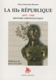 Pierre-Alexandre Bourson - La IIIe République (1870-1940) - Histoire chronologique.