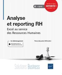 Pierre-Alexandre Grolleau - Analyse et reporting RH - Excel au service des ressources humaines.
