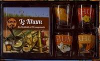 Le rhum- Ses cocktails et ses arrangements, avec 4 verres - Pierre Alibert | Showmesound.org