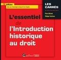 Pierre Allorant et Philippe Tanchoux - L'essentiel de l'introduction historique au droit.