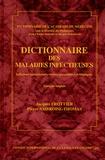 Pierre Ambroise-Thomas et Jacques Frottier - Dictionnaire des maladies infectieuses - Infections bactériennes, virales, parasitaires et fongiques, édition français-anglais.