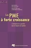 Pierre-André Julien et  Collectif - Les PME à forte croissance.