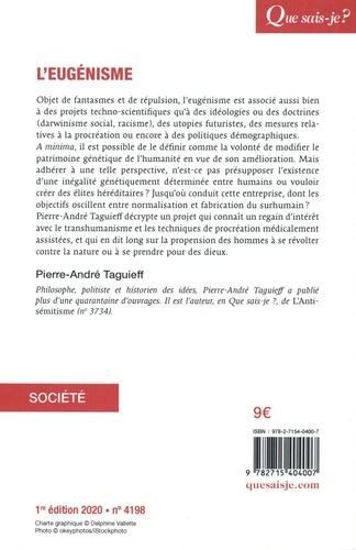 L'eugénisme - Pierre-André Taguieff - Livres - Furet du Nord
