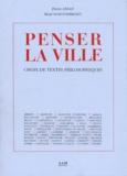 Pierre Ansay et René Schoonbrodt - PENSER LA VILLE.