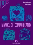 Pierre-Antoine Pontoizeau - Manuel de communication.
