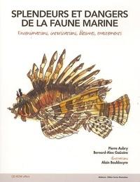 Pierre Aubry - Splendeurs et dangers de la faune marine - Evenimations, intoxications, blessures, traitements. 1 Cédérom