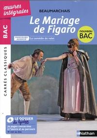 Pierre-Augustin Caron de Beaumarchais - La folle journée ou Le mariage de Figaro - Parcours asocié : La comédie du valet.