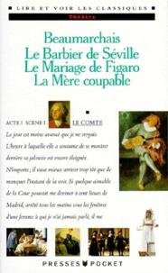 Deedr.fr Le Barbier de Séville ; Le Mariage de Figaro ; La Mère coupable Image