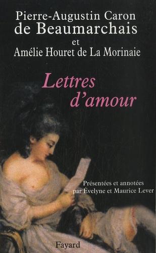 Pierre-Augustin Caron de Beaumarchais et Amélie Houret de La Morinaie - Lettres d'amour.