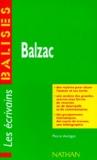 Pierre Aurégan - Balzac - Des repères pour situer l'auteur et ses écrits....