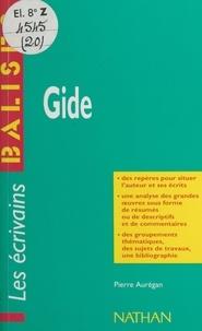 Pierre Aurégan et Henri Mitterand - Gide - Des repères pour situer l'auteur, ses écrits, l'œuvre étudiée. Une analyse de l'œuvre sous forme de résumés et de commentaires. Une synthèse littéraire thématique. Des jugements critiques, des sujets de travaux, une bibliographie.