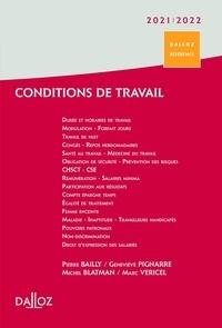Pierre Bailly et Michel Blatman - Conditions de travail - Durée, rémunération, santé et sécurité.