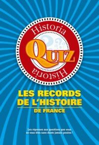 Pierre Baron - Les records de l'histoire de France.
