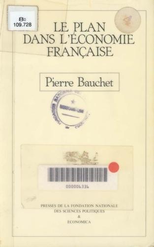 Le plan dans l'économie française