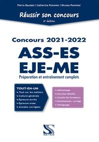 Pierre Baudain et Catherine Pommier - Réussir son concours ASS-EJE-ES-ME.