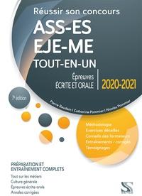 Réussir son concours ASS-EJE-ES-ME - Pierre Baudain |