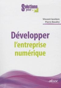 Pierre Baudry et Vincent Iacolare - Développer l'entreprise numérique.
