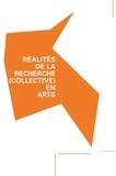 Pierre Baumann - Réalités de la recherche (collective) en arts.
