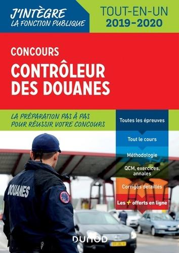 Concours Contrôleur des douanes - Format PDF - 9782100799978 - 17,99 €