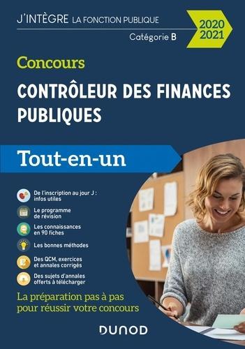 Concours Contrôleur des finances publiques. Catégorie B, Tout-en-un  Edition 2020-2021
