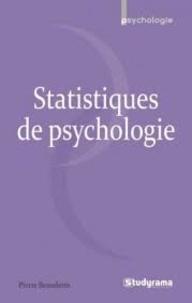 Pierre Benedetto - Statistiques en psychologie.
