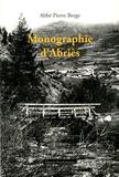 Pierre Berge - Monographie d'Abriès - Notes pour une histoire d'Abriès.