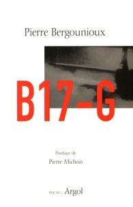 Pierre Bergounioux et Pierre Michon - B17-G - Suivi de Smith.