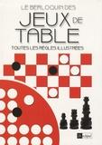 Pierre Berloquin - Le berloquin des jeux de table - Toutes les règles illustrées.