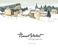 Pierre Bichet et Vincent Bichet - Pierre Bichet, lithographies - Avec un carnet de dessins.
