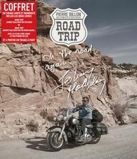 Pierre Billon - Coffret Road Trip - Johnny Hallyday on the road  ; Johnny Hallyday on the road again... Avec 4 photos en tirage à part. 1 CD audio MP3