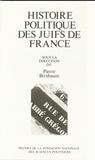 Pierre Birnbaum - Histoire politique des juifs en France - Entre universalisme et particularisme.