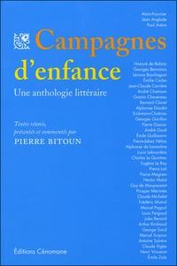 Pierre Bitoun - Campagnes d'enfance - Une anthologie littéraire.