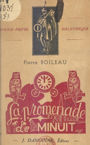 La promenade de minuit : André Brunel, policier