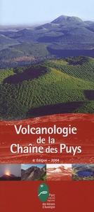 Pierre Boivin - Volcanologie de la Chaîne des Puys - Avec une carte 1/25 000.
