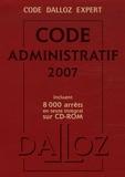 Pierre Bon et Michel Lascombe - Code administratif 2007. 1 Cédérom