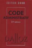 Pierre Bon et Michel Lascombe - Code administratif 2008.