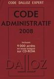 Pierre Bon et Michel Lascombe - Code administratif 2008. 1 Cédérom