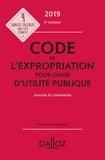 Pierre Bon et Marie-Charlotte Lesergent - Code de l'expropriation pour cause d'utilité publique annoté & commenté.
