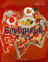 Pierre Boncompain et Jean Gilibert - Boncompain - Peintures, Edition bilingue français-anglais.