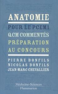 Anatomie pour le PCEM 1 - QCM commentés - Préparation au concours.pdf