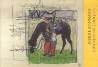 Pierre Bonnard - Carnets de croquis - 1882, 1890, 1890 ou 1891 et 1892 Coffret en trois volumes.