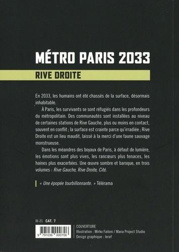 Métro Paris 2033 Tome 2 Rive droite