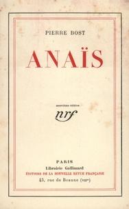 Pierre Bost - Anaïs.