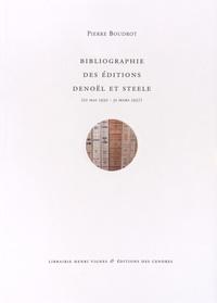 Accentsonline.fr Bibliographie des éditions Denoël et Steele (10 mai 1930 - 31 mars 1937) Image