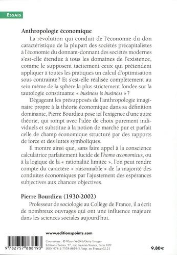 Anthropologie économique. Cours au Collège de France (1992-1993)